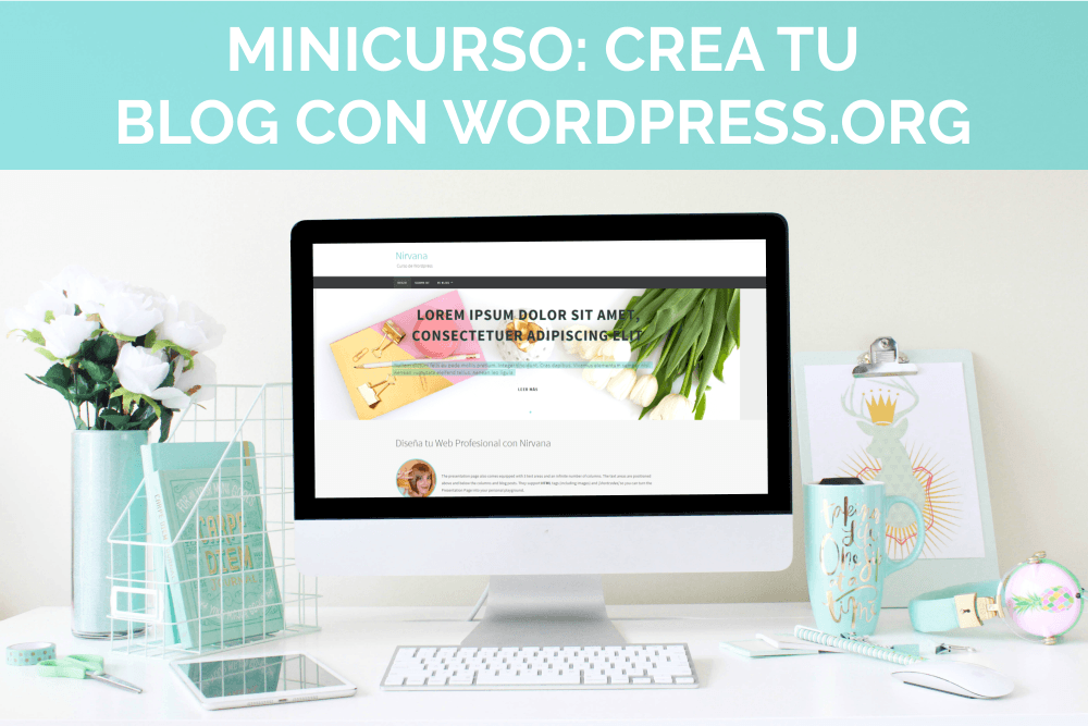 crea tu blog profesional en wordpress