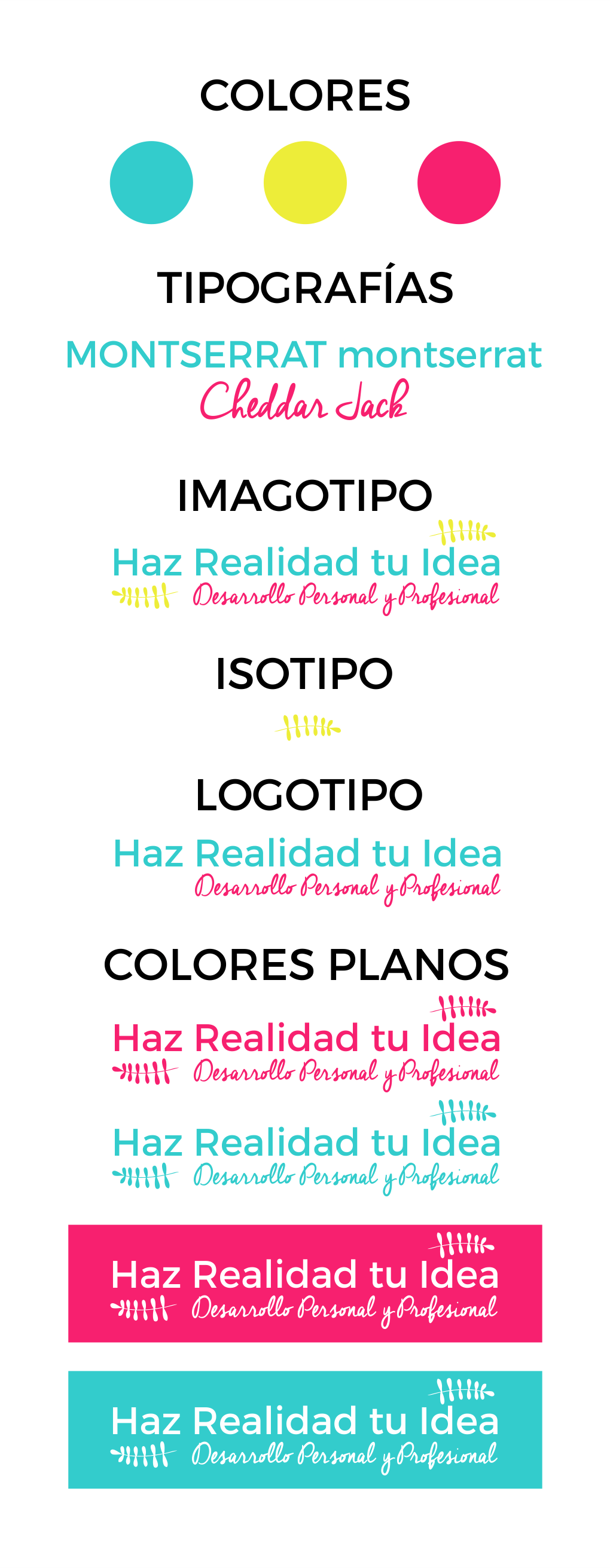 manual de identidad visual para emprendedoras
